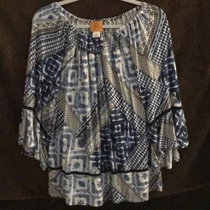 Ruby Rd Ladies casual blouse
